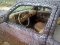 Nietypowy samochód w Nigerii