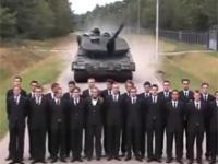 Hamowanie Czołgu Leopard