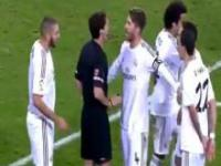 Czerwona kartka dla Ronaldo