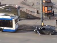 Genialny pomysł kierowcy z Rosji