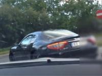 Polski bogacz w Maserati dostaje baty