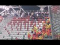 Legia Jagiellonia zadyma
