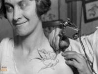 Kobiety z tatuażami dawniej