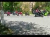 Parada motocykli w Rosji