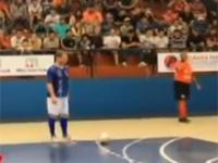 Nieprawdopodobna bramka w futsalu. Falcao przeszedł samego siebie!