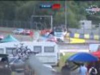Koszmarny wypadek na treningu przed 24-godzinnym wyścigiem Le Mans!