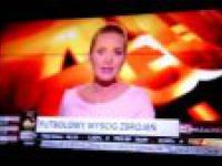 Barka w TVN 24! Fail prowadzącej - zamiast Barcelona mówi BARKA ! AHAHAHA