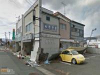 Opuszczone miasto po awarii Fukushimy