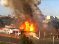 Eksplozja na stacji benzynowej