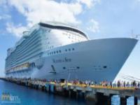 Zaplecze największego pasażerskiego statku