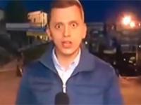 Hipnotyzujący reporter TVN24