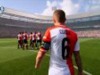 Feyenoord - Ajax - początek meczu niemal jak w FIFIe!
