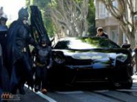 Chory chłopczyk został Batmanem