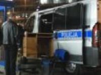 Transport mebli radiowozem - Furniture transported by a cop car (Michal Kujawa PL)