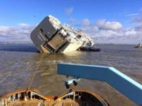 Przewrócony statek