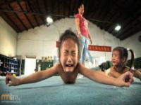 Treningi chińskich dzieci