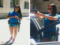 Nowa policjantka w ukraińskiej służbie