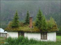 Norweskie wioski na fotografiach