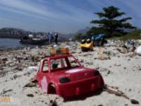 Zanieczyszczone plaże Rio de Janeiro