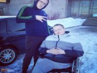 Niepełnosprawny nastolatek zmienił swoje życie