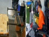 Jak z wózka inwalidzkiego zrobić ciekawy strój?