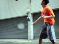Samotny badminton