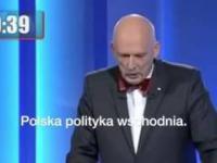 Janusz Korwin-Mikke w świetnej formie na debacie