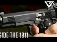 Pistolet 1911 w ujęciach slow motion