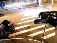 Bandyci rabują kierowców w Brazylii (Bikers rob drivers)
