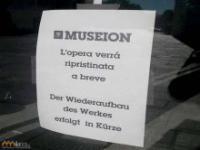 Sprzątacze z muzeum w tarapatach