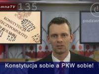 Robią nas w konia: PKW vs Konstytucja - wyborcze łamanie konstytucji w III RP 135