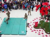 Pokaz UK Marines: techniki walki bez broni