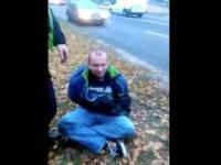 Polska Policja, interwencja bez komentarza.