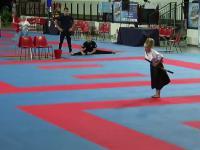 Taniec małej bojowniczki