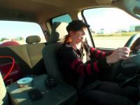 Mythbusters - Piłka wystrzelona z samochodu