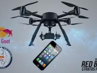 iPhone 5 Red Goat Stratos | Red Bull Stratos Parody + konkurs