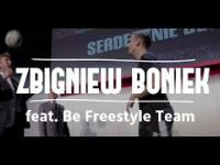 Zbigniew Boniek i triki piłkarskie