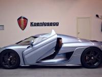 Nowy system otwierania drzwi w Koenigsegg Regera