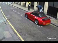 Miejski monitoring zarejestrował próbę kradzieży