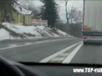 Wyprzedzanie zawodowych kierowców