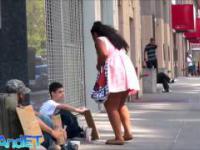Poruszający film o bezdomnym