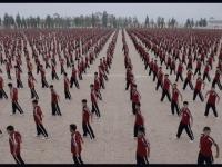 36000 uczniów Shaolin