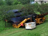 Maszynka do zbierania wiśni