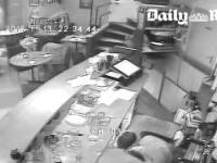 Paris Attack Horrifying Footage by Daily Mail [ Woman is saved because the rifle was jammed ]