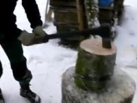 Jak poprawnie i efektywnie rąbać drewno?