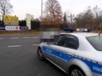 Policjanci unikają pomiarów Iskrą przed kamerą