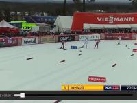 Zabawna wpadka Norweskiej biegaczki - za szybko pobiegła do mety...
