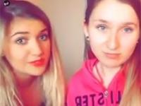 Dwie polskie nastolatki chwalą się swoją miłosną przygodą z raperami