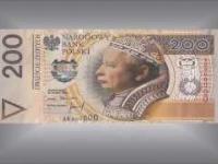 Nowe banknoty polskie. New banknotes Polish.