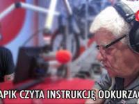 Tomasz Knapik czyta instrukcję odkurzacza!